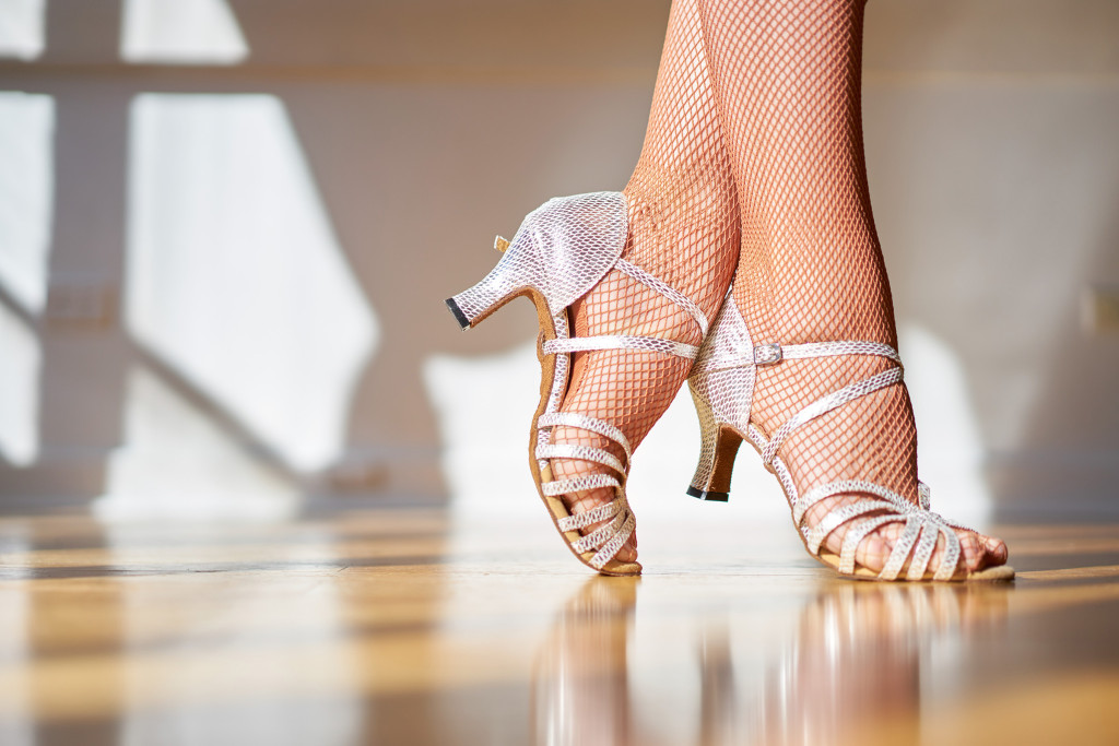 The dance shoe fits at Salsabor